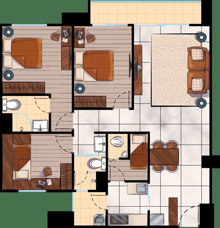 3-BEDROOM-1-120-SQM
